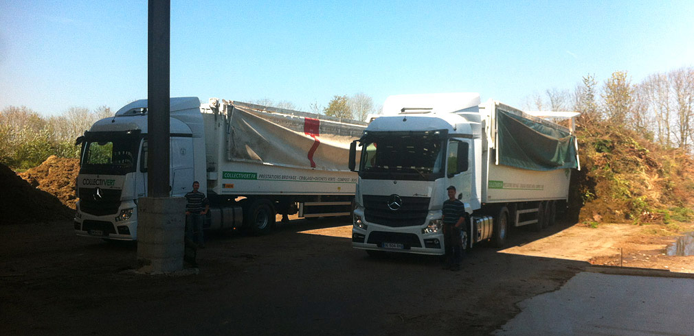 transport dechets verts